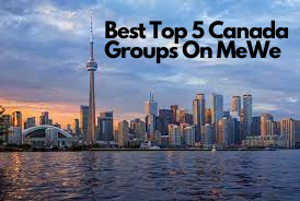 Best Top 5 Canada Groups On MeWe